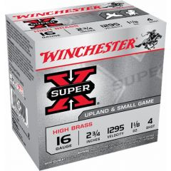 Winchester 16GA 2.75 SUPR X HB GAME LD 4